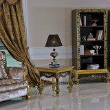 0061金Europの高貴なデザイン標準的な純木のコーヒーテーブル