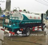 1200 galões de água carting truck, HOWO 4~5cbm 4X2 Pequeno Carrinho de Água