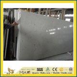 Het witte Kunstmatige Kwarts Silestone/Lyra/Engineered kijkt Marmeren Steen voor de Bovenkanten van de Keuken/van de Badkamers/Countertop/van de Ijdelheid