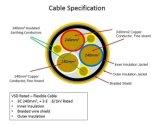 Pur 광업 Hf/Fr 3X185+3G35+2X1 의 5개의 물 증거 Soow 고무 케이블