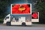 屋外のLED表示P5/P6/P8/P10、移動式広告のヴァンを広告する高品質