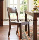 Feste hölzerne speisende Stuhl-Wohnzimmer-Möbel (M-X2464)