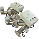 Eliminación de los sólidos con el sistema autolimpiador de la purificación del agua del filtro del cepillo