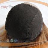 Parrucca delle donne della parte anteriore del merletto legata mano completa (PPG-l-0820)