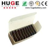 1,4 V 10pcs/Cuadro interior de la batería de Audífonos& la pila de botón de la batería de zinc-aire