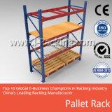 Défilement ligne par ligne en acier de empilement lourd de palette/étagère industrielle en métal réglable de solutions de stockage