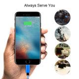 Iphonex를 위한 다채로운 나일론 Briaded 번개 USB 케이블