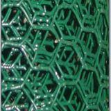 Engranzamento de fio sextavado galvanizado eletro de oposição da corrosão
