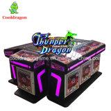 Máquina tragaperras de la pesca del casino de rey Software Fish Hunting Game del océano de 8 jugadores