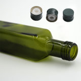 quadratische Glasflaschen-Öl-und Essig-Flaschen des Olivenöl-500ml