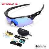 Для использования вне помещений рекламных велосипедах пользовательских печатных Len многоцветные Tr90 рамы материала велосипедного движения волейбол солнечные очки