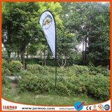 100d de polyester Afgedrukte Banner van de Vlag van de Douane Verticale