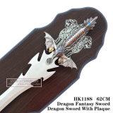 Decoração Home 62cm HK118s da tabela das espadas do cavaleiro da decoração