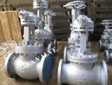 A216 Wcb Manual de fundición de acero atornillado el ángulo del capot debajo de la brida de sellado Válvula de globo