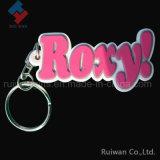 다채로운 최고 다이아몬드 모양 기념품을%s 연약한 PVC 열쇠 고리
