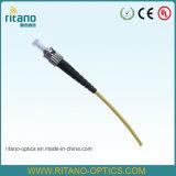 0.9/2.0/3.0mm St/Sc/FC/LC/MTRJ/E2000/Mu/SMA/DINの視覚のファイバーのピグテールケーブル