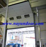 Автоматические промышленные верхней плоскости вертикальной подъемной двери