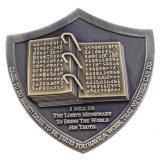 Forme de coeur de l'émail doux pièce de monnaie commémorative