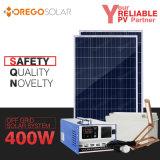 Inversor portátil do sistema de energia 400W do painel solar 100W do picovolt