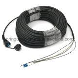 Resistente al agua Pdlc Latiguillos de fibra óptica