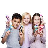Juguete electrónico del bebé del mono interactivo del dedo para los niños
