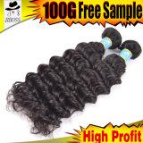Extensão brasileira padrão do cabelo humano da venda quente