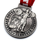 Amostra grátis Fundição Personalizado técnica de futebol Sport Medalha de Metal