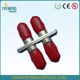 Adaptador a dos caras del cable fibroóptico del St con el borde