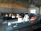 Bateau de sauvetage de l'eau de bateau de côte de fibre de verre de Liya petit