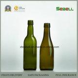 botella antigua del aceite de oliva del vidrio verde 500ml/250ml con la tapa del tornillo (NA-057)