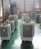 De olie dompelde Fase 3 onder opvoert Stap - onderaan Transformator 100kVA