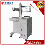 Máquina plástica de la marca del laser de la fibra de la alta precisión del metal de la alta calidad del precio bajo