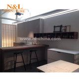 SGSの証明のN及びLモジュラー光沢度の高い紫外線食器棚