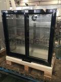 최신 판매 두 배 유리제 문 뒤 바 냉각기 음료 냉각기