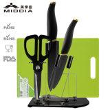 5 штук керамических ножницы и комплекта ножей с держателем