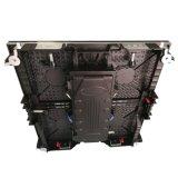 Servizio anteriore 500*500mm P3.91 che fondono sotto pressione l'armadietto di esposizione dell'interno del LED per affitto