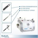 3 en 1 máquina de Dermabrasion del Hydra del inyector del oxígeno de la cáscara del jet del oxígeno