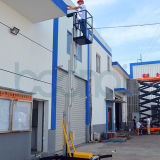 Elevador de levantamento de alumínio da plataforma do único mastro com Ce