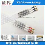 Lâmpada de xénon para tipo de máquina de corte a laser YAG