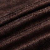 Velluto 2018 del tessuto del Brown con il cappotto
