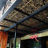 El panel de revestimiento de la pared exterior perforó diseño decorativo del techo