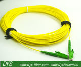 Cabo de correção de programa da fibra óptica da manutenção programada Sx de E2000 APC