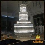호텔 주문 수정같은 프로젝트 샹들리에 점화 (KA86686)