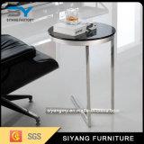 Table basse chaude chinoise de côté de base de croix de meubles pour les Etats-Unis