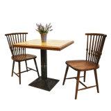 (SD3011) Tabela de jantar de madeira moderna do restaurante da venda quente com cadeira