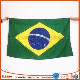Pour la vente battant de manifestations sportives des drapeaux nationaux personnalisé