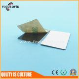 Tag RFID du contrôle d'accès NFC avec la couche en métal et le logo de coutume
