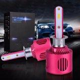 20W Fanless内部ドライバーH1 H3 LEDヘッドライト極度の明るいLEDのヘッドライトの球根はFittableをよくする