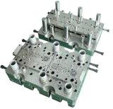 El proceso de perforación del metal que estampa el metal automotor muere