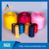 Todas las clases de surtidores grises de costura del hilado de la cuerda de rosca del bordado